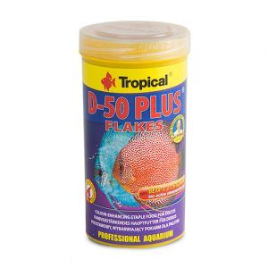 comida para discos tropical-D-50-PLUS