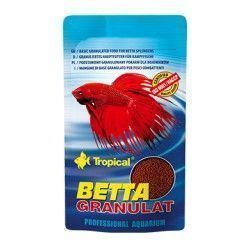 comida para bettas tropical betta granulat